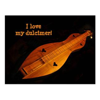Dulcimer Postcard