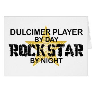 Dulcimer Rock Star by Night Card