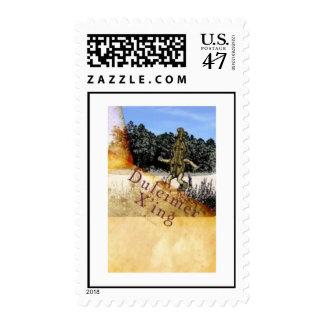 Dulcimer X'ing Stamp