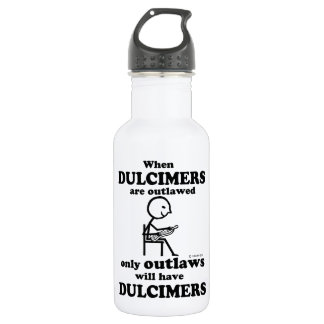 Dulcimers Outlawed Water Bottle