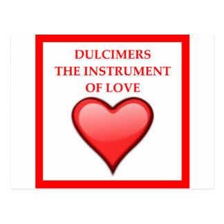DULCIMERS POSTCARD