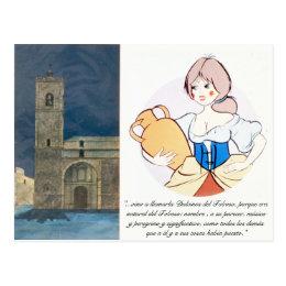 Dulcinea del Toboso by @QUIXOTEdotTV Postcard