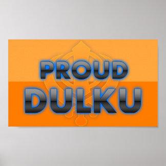 Dulku orgulloso orgullo de Dulku Impresiones