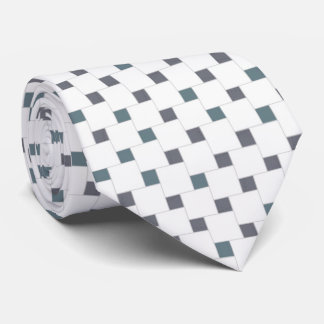 Dull Color Squares Tie