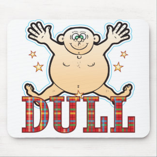 Dull Fat Man Mouse Pad