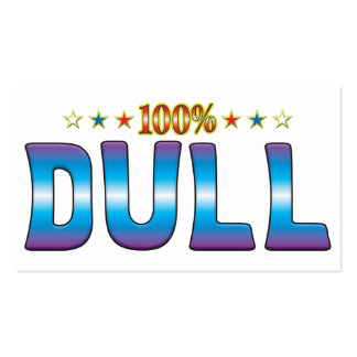 Dull Star Tag v2 Pack Of Standard Business Cards