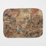Dulle Griet (Mad Meg) by Pieter Bruegel Baby Burp Cloth