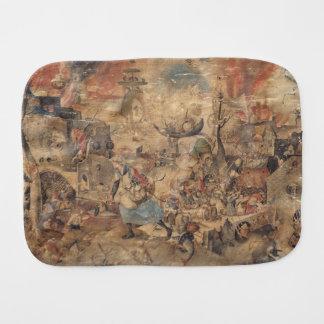 Dulle Griet (Mad Meg) by Pieter Bruegel Baby Burp Cloth