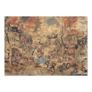 Dulle Griet (Mad Meg) by Pieter Bruegel Card