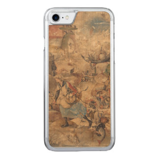 Dulle Griet (Mad Meg) by Pieter Bruegel Carved iPhone 7 Case
