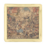 Dulle Griet (Mad Meg) by Pieter Bruegel Gold Finish Lapel Pin