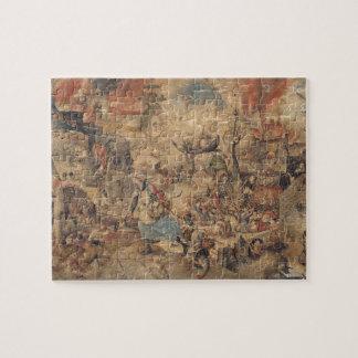 Dulle Griet (Mad Meg) by Pieter Bruegel Jigsaw Puzzle