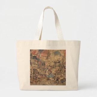 Dulle Griet (Mad Meg) by Pieter Bruegel Large Tote Bag