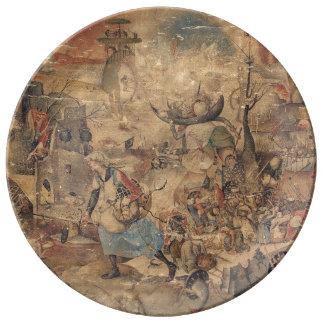 Dulle Griet (Mad Meg) by Pieter Bruegel Plate