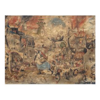 Dulle Griet (Mad Meg) by Pieter Bruegel Postcard