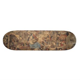 Dulle Griet (Mad Meg) by Pieter Bruegel Skate Deck
