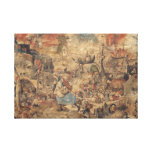 Dulle Griet (Mad Meg) Pieter Bruegel the Elder Canvas Print