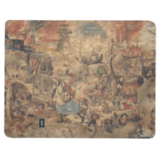 Dulle Griet megohmio enojado por Pieter Bruegel Cuaderno