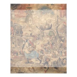 "Dulle Griet (megohmio enojado) por Pieter Bruegel Folleto 4.5"" X 5.6"""