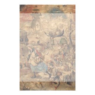 "Dulle Griet (megohmio enojado) por Pieter Bruegel Folleto 5.5"" X 8.5"""