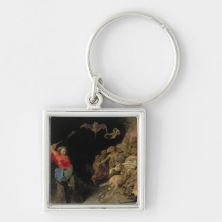 Dulle Griet  raiding Hell Keychain