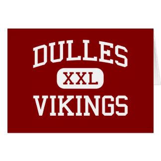 Dulles - Vikings - High School - Sugar Land Texas Greeting Card