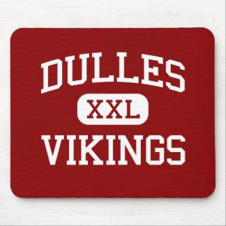 Dulles - Vikings - High School - Sugar Land Texas Mouse Pad