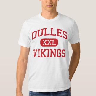 Dulles - Vikings - High School - Sugar Land Texas T Shirt