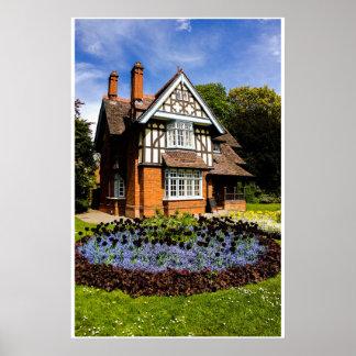 Dullwich Park Gatehouse Poster