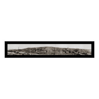 Duluth from MN Point Photo 1901 Poster