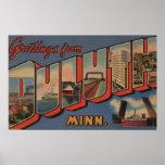 Duluth, Minnesota - escenas grandes de la letra Impresiones