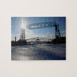 Duluth Minnesota Lift Bridge Puzzle