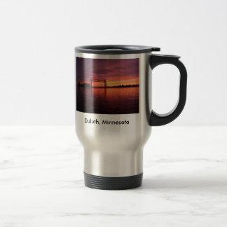 Duluth,Minnesota Sunset Travel Mug