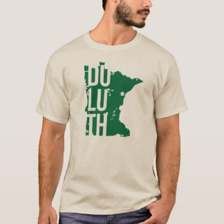 Duluth Minnesota t-shirt with Map