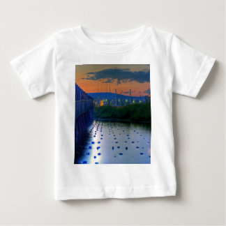 Duluth Shore from Pier Baby T-Shirt