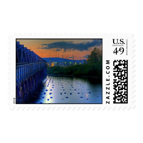 Duluth Shore from Pier Postage