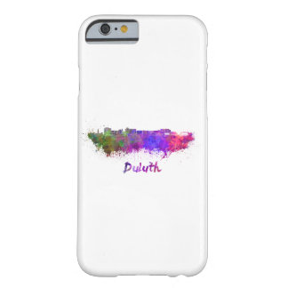 Duluth skyline in watercolor barely there iPhone 6 case