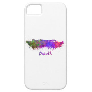 Duluth skyline in watercolor iPhone SE/5/5s case