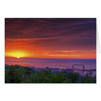 Duluth Sunrise Card