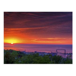 Duluth Sunrise Postcard