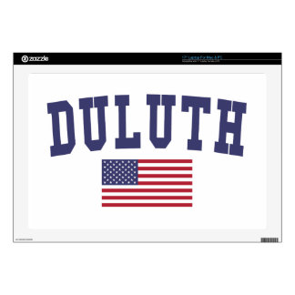 Duluth US Flag Decals For Laptops