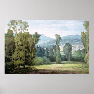 Dulverton, Somerset, 1800 Póster
