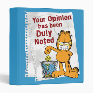 Duly Noted 3 Ring Binder