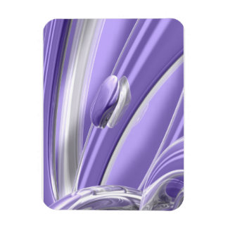 Dulzura de Pourple Rectangle Magnet