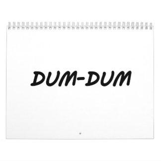 Dum-Dum Calendario De Pared