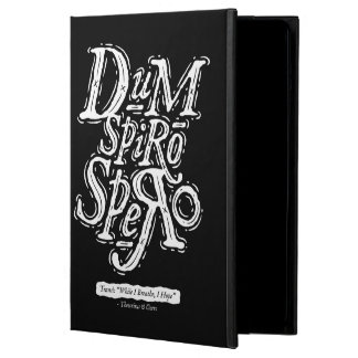 Dum Spiro Spero - caja del folio del aire del iPad