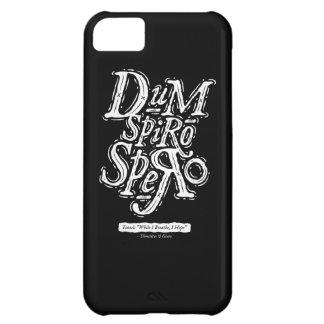 Dum Spiro Spero - caso de Iphone 5C - negro