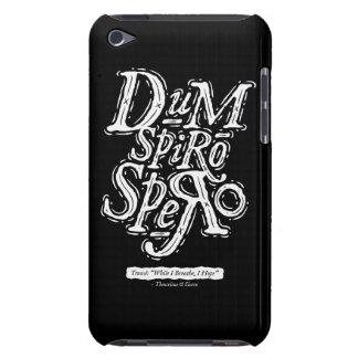 Dum Spiro Spero - caso del tacto de iPod - negro iPod Touch Cárcasas
