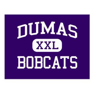 Dumas - Bobcats - High School - Dumas Arkansas Postcard