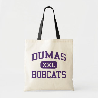Dumas - Bobcats - High School - Dumas Arkansas Tote Bag